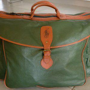Authentic vintage Ralph Lauren classic overnight / weekender bag